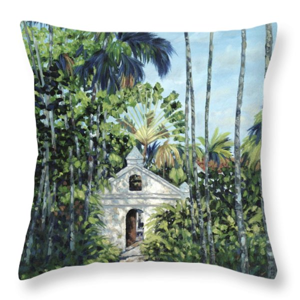 Travelers Path Throw Pillow by Danielle  Perry