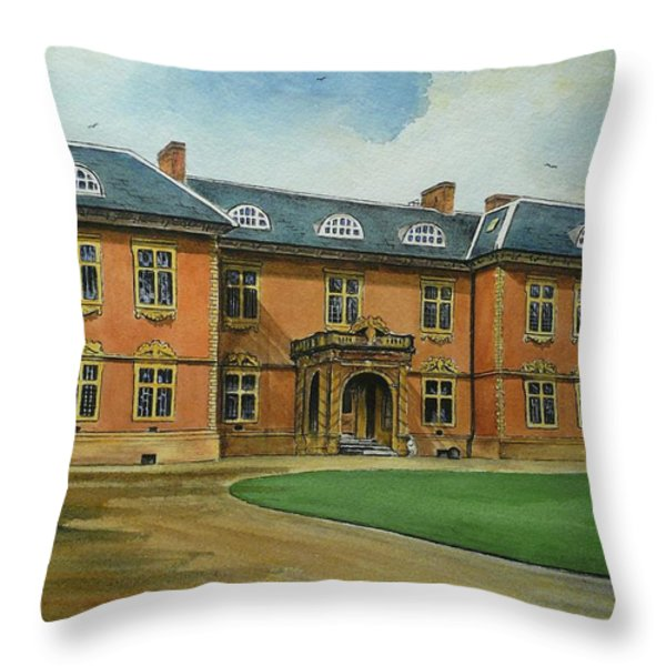 Tredegar House Throw Pillow by Andrew Read