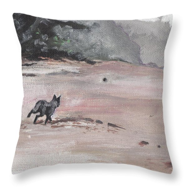 Trigger Throw Pillow by Sarah Lynch