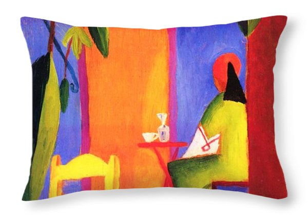 Turkish Cafe II Throw Pillow by Pg Reproductions