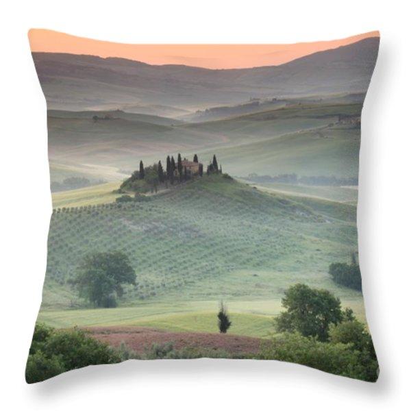 Tuscany Throw Pillow by Tuscany