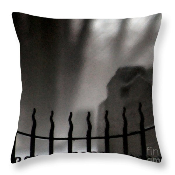 Twilight Beyond Grace Throw Pillow by Linda Knorr Shafer