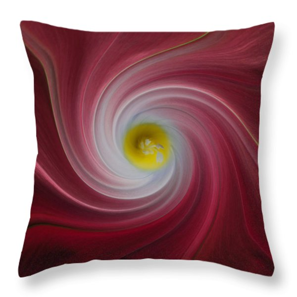 Twisted Glory Two Throw Pillow by Michael Peychich