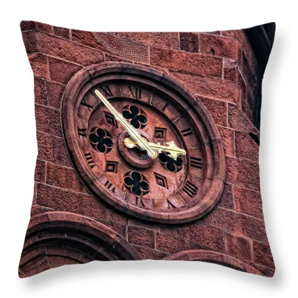Two Fifty Three Throw Pillow by Christopher Holmes