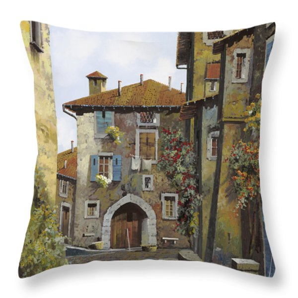 Umbria Throw Pillow by Guido Borelli