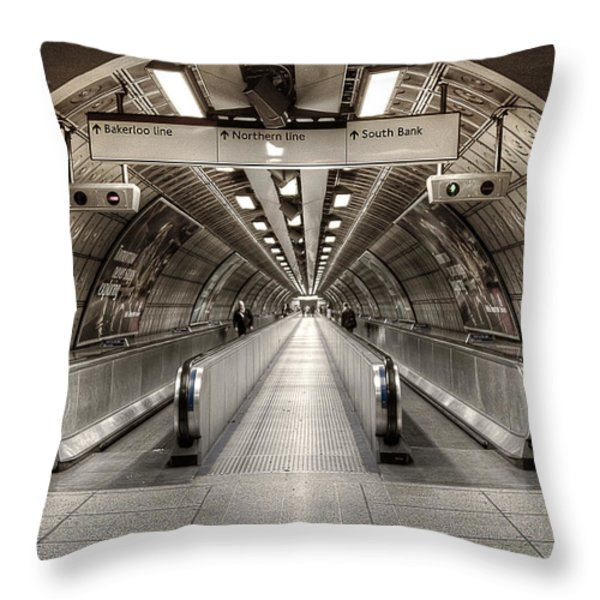 Underground Life 02 Throw Pillow by Svetlana Sewell