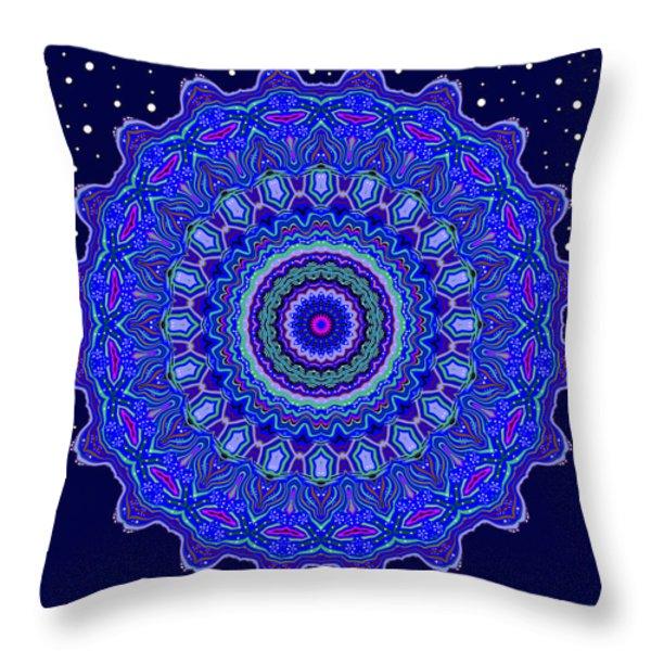 Undersea Treasure Throw Pillow by Joy McKenzie