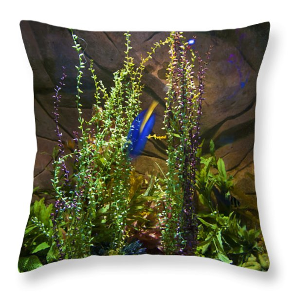 Underwater03 Throw Pillow by Svetlana Sewell