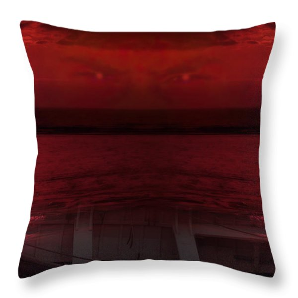 Unknown Planet Throw Pillow by Svetlana Sewell