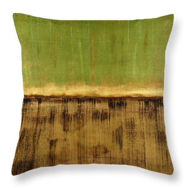 Untitled No. 12 Throw Pillow by Julie Niemela