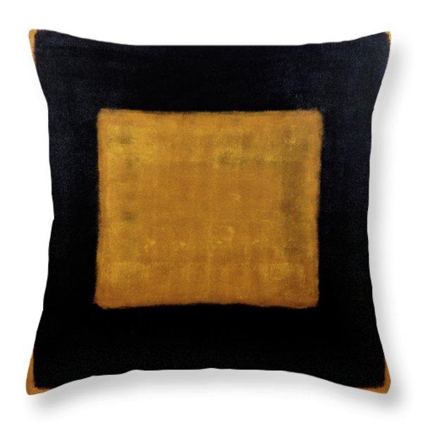Untitled No. 17 Throw Pillow by Julie Niemela
