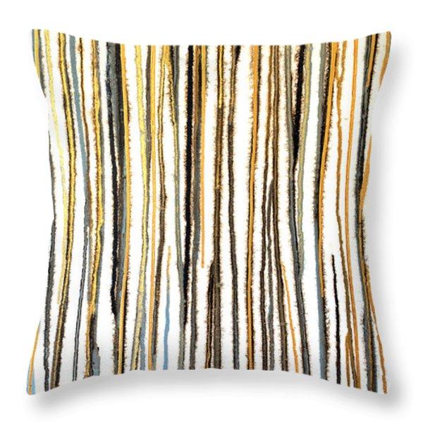 Untitled No. 7 Throw Pillow by Julie Niemela