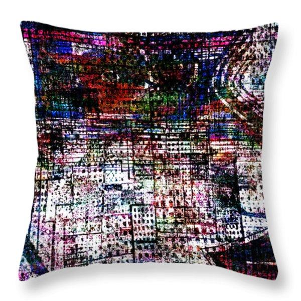 Urban Primitif Throw Pillow by Andy  Mercer