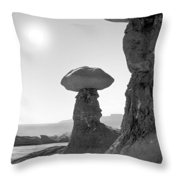 Utah Outback 19 Throw Pillow by Mike McGlothlen