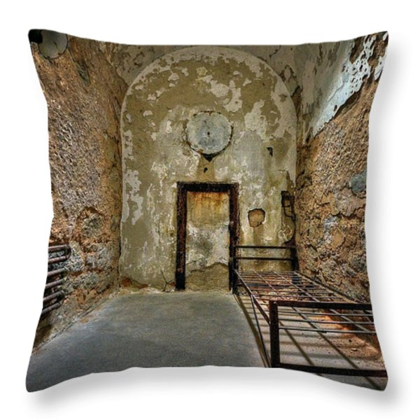 Vacancy Throw Pillow by Evelina Kremsdorf