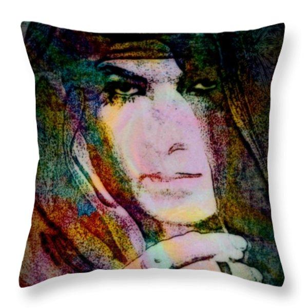 Valentino Throw Pillow by WBK