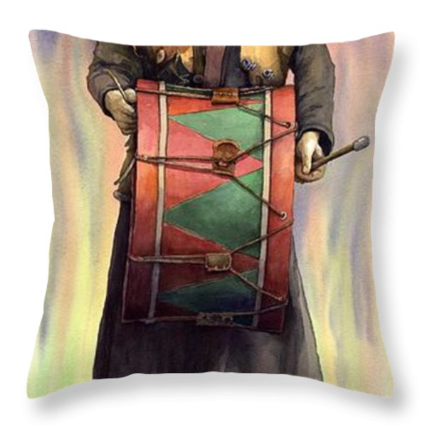 Varius Coloribus  Abul Throw Pillow by Yuriy  Shevchuk