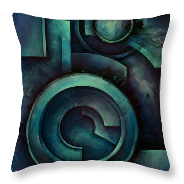 'Vault' Throw Pillow by Michael Lang