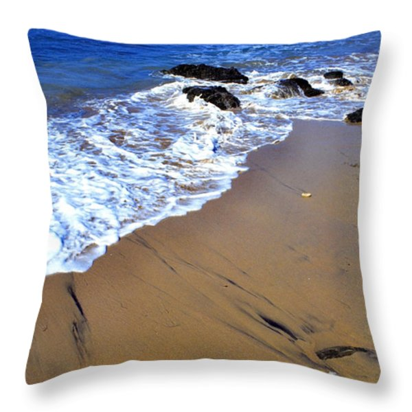 Vieques Throw Pillow by Thomas R Fletcher