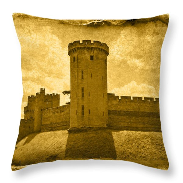 Vintage09 Throw Pillow by Svetlana Sewell