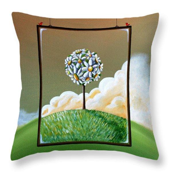 Virtue Throw Pillow by Cindy Thornton