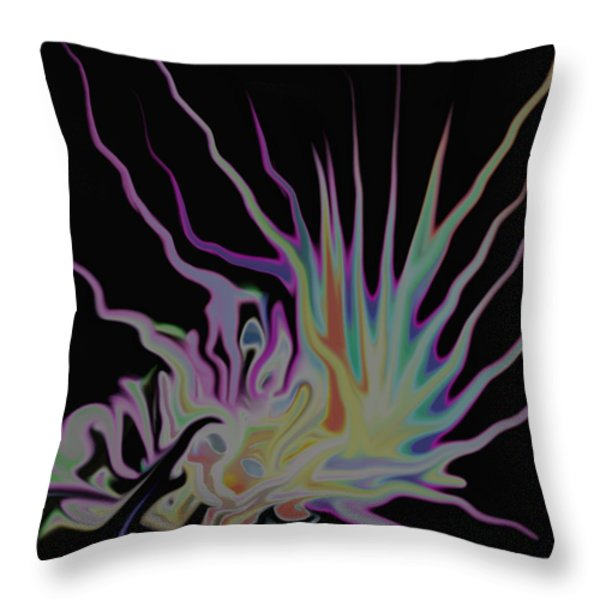 Visionary Throw Pillow by Gina Lee Manley