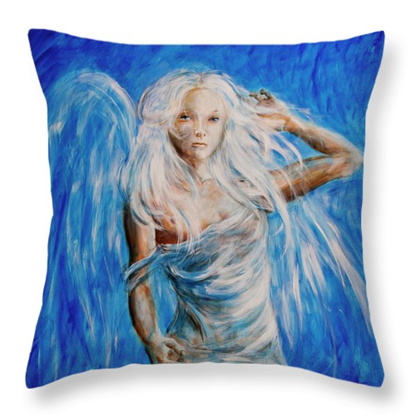 Viva Forever Throw Pillow by Nik Helbig