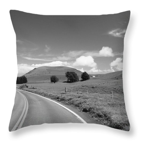 Waimea Ranchland Throw Pillow by Bob Abraham - Printscapes