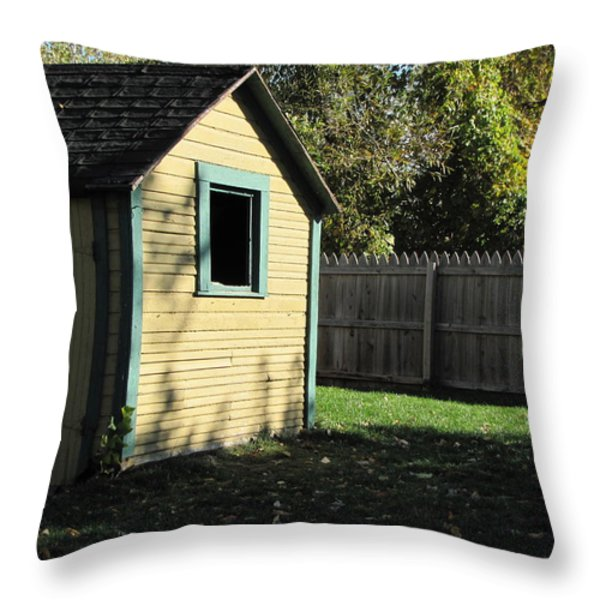 Waiting for Black Bart Throw Pillow by Kelly Mezzapelle