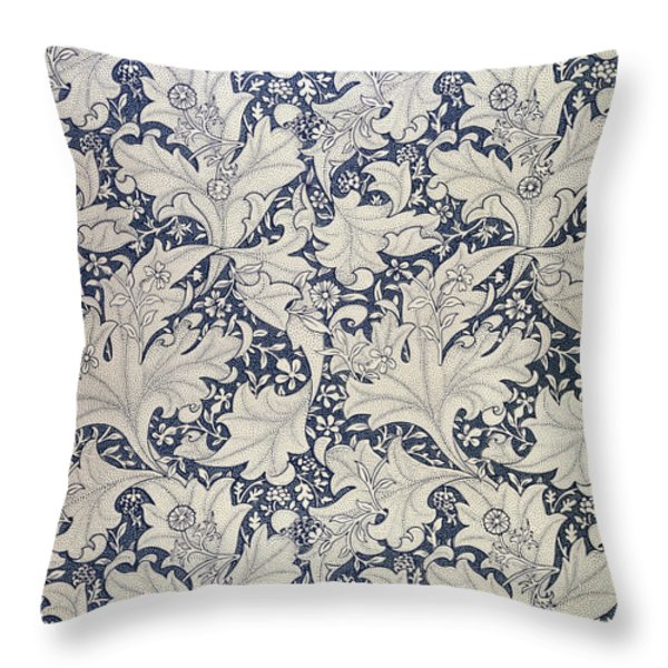'Wallflower' design  Throw Pillow by William Morris