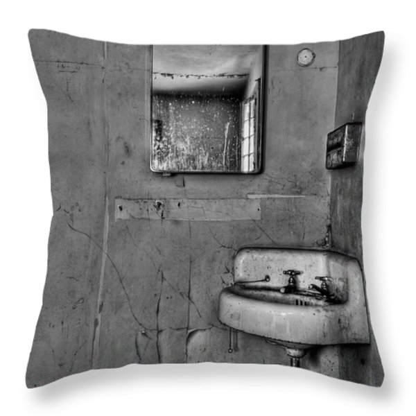 Wash Away Your Fears Throw Pillow by Evelina Kremsdorf