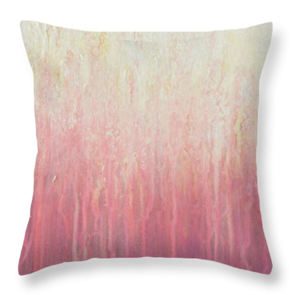 Waves Of Lights Throw Pillow by Jaison Cianelli