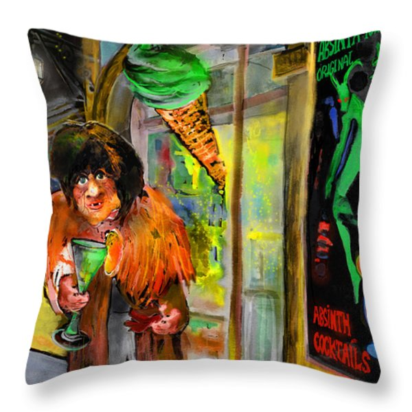 Welcome to The Czech Republic 02 Throw Pillow by Miki De Goodaboom