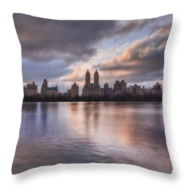 West Side Story Throw Pillow by Evelina Kremsdorf