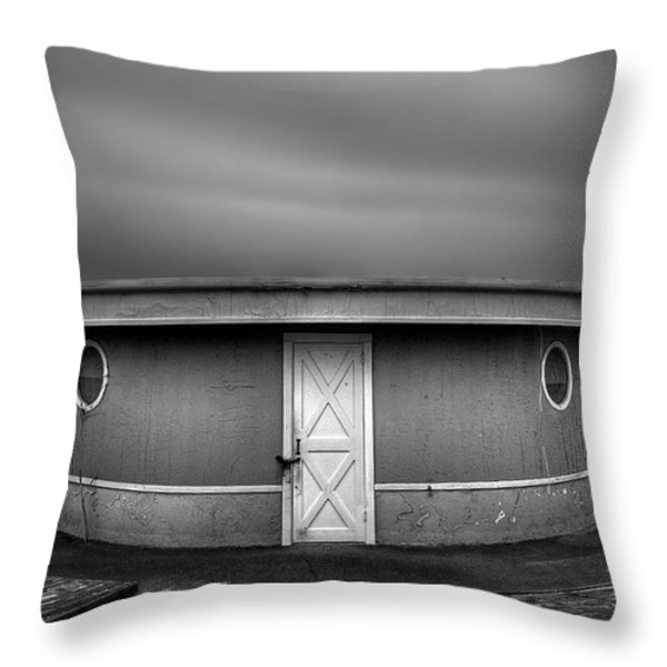 What Goes 'round Comes 'round Throw Pillow by Evelina Kremsdorf