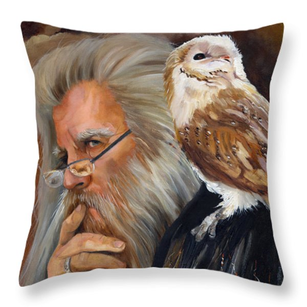 What if... Throw Pillow by J W Baker