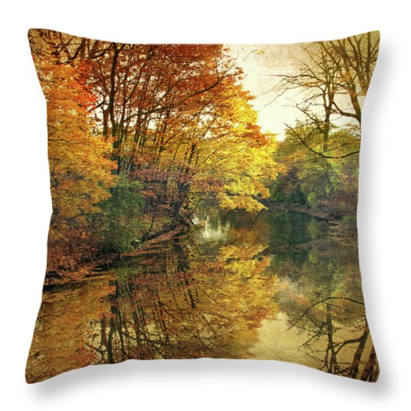 What Remains Throw Pillow by Jessica Jenney