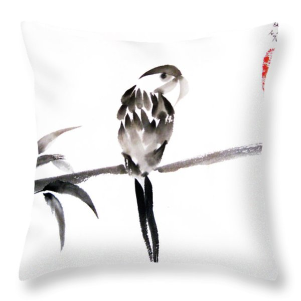 What's Up Throw Pillow by Oiyee At Oystudio