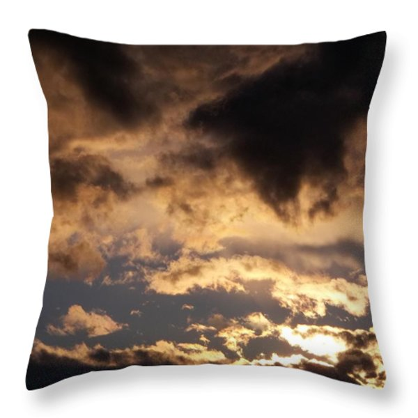 When Heaven Speaks Throw Pillow by Glenn McCarthy Art and Photography