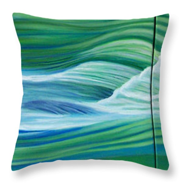 When We Met    Throw Pillow by Brian  Commerford