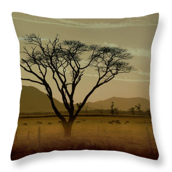 Wherever I May Roam Throw Pillow by Holly Kempe