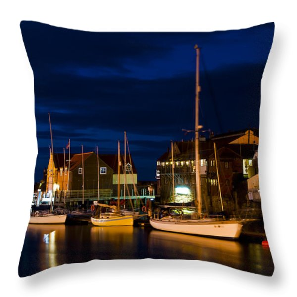 Whitby Throw Pillow by Svetlana Sewell