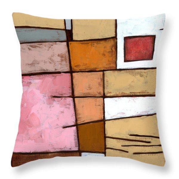 White Chocolate Throw Pillow by Douglas Simonson