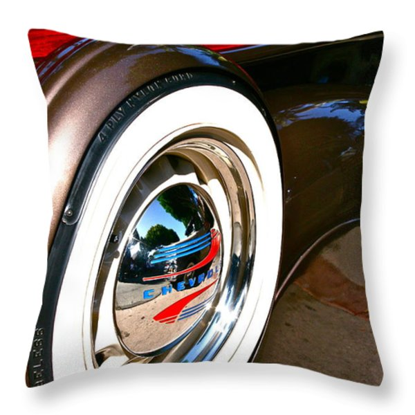 White Wall Throw Pillow by Gwyn Newcombe