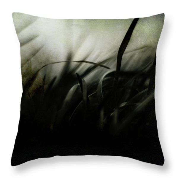 Wicked Garden Throw Pillow by Rebecca Sherman