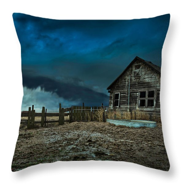 Wicked Throw Pillow by Thomas Zimmerman