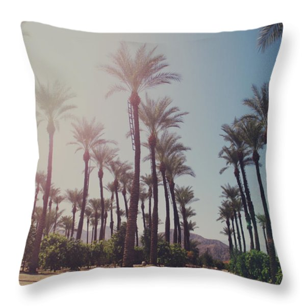 Wide Awake Throw Pillow by Laurie Search