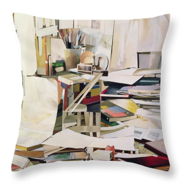 Wind Of Change Throw Pillow by Jeremy Annett