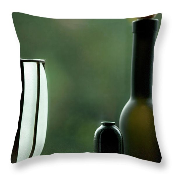 Window Sill Decoration Throw Pillow by Heiko Koehrer-Wagner