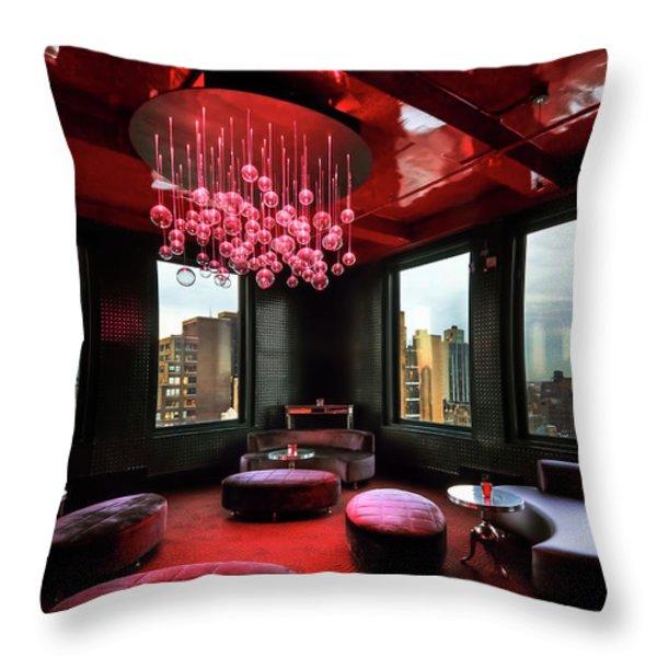 Windows of the World Throw Pillow by Evelina Kremsdorf